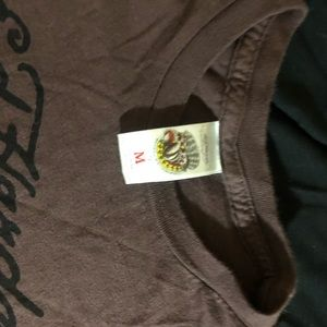 Ed Hardy Tops - Ed Hardy tee shirt with print / graphics on it